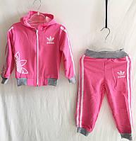 5c8efd42 Спортивный костюм для девочки Adidas р.20-28 малиновый+серый, цена ...