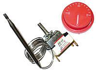 WY90C-E  — Термостат для электрокотла, капиллярный с ручкой, Toff=90, L трубки 850мм, однофазный, 250V, 16A, фото 1