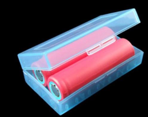 Защитный футляр / бокс / кейс / контейнер для хранения аккумуляторов 2*18650 или 4*16340
