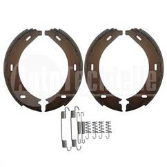 Колодки ручника MB Sprinter/VW Crafter 06- (180x25) (с пружинками)