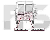 Ремонтная часть задней левой двери Fiat Ducato, Citrone Jumper, Peugeot Boxer (94-02) Fiat FP 2092 157