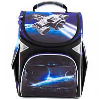 Ранец (рюкзак) - каркасный школьныйдля мальчика - Космос,GO18-5001S-16