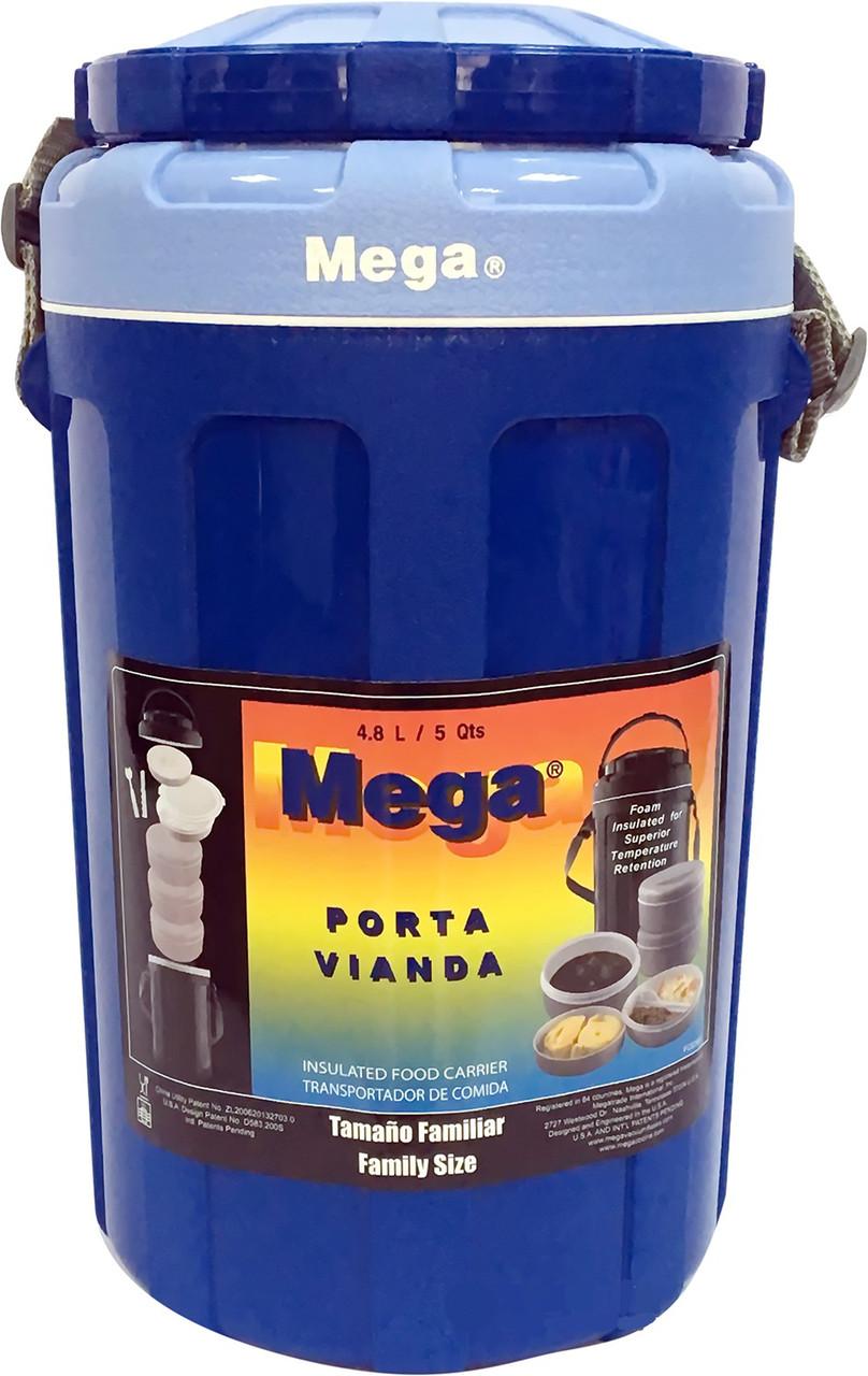Изотермический контейнер для еды Mega 4,8 л