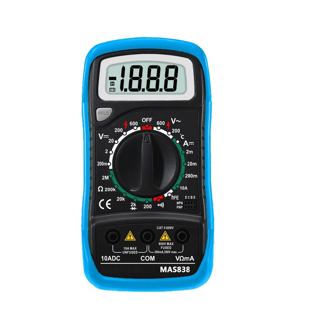 Цифровой мультиметр Mas 838