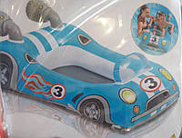 Детский надувной плотик-райдер Bestway 34045 «Патрульная машина»,71 х 56 см