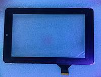 Оригинальный тачскрин / сенсор (сенсорное стекло) для Explay Surfer 7.02 | Surfer 7.04 (черный, самоклейка)