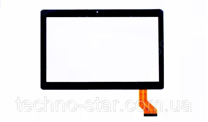 Оригинальный тачскрин / сенсор (сенсорное стекло) для Nomi Stella+ C10105 (черный цвет, самоклейка)