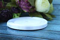 Атласная лента 0.6 см, 36 ярд (около 33 м), белого цвета оптом SD