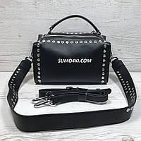Крутая кожаная женская сумка ( бочёнок )