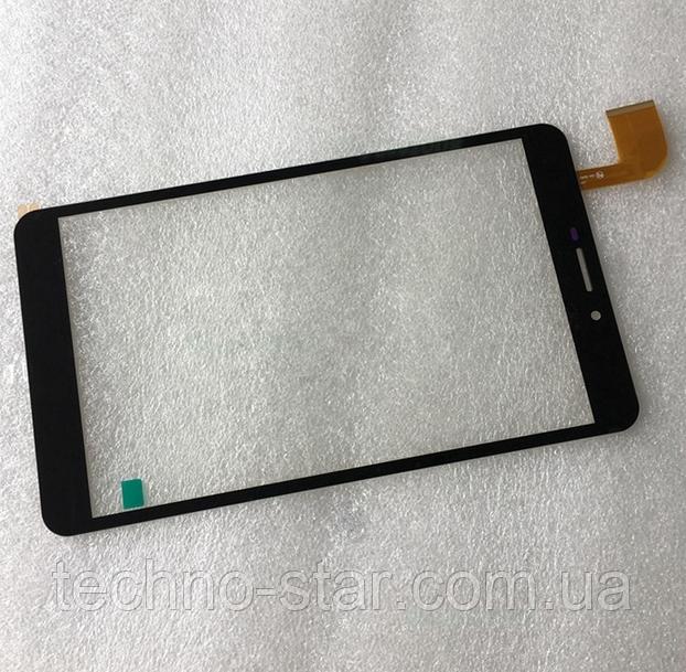Оригинальный тачскрин / сенсор (сенсорное стекло) для Digma Plane 7.6 3G (черный цвет, самоклейка)