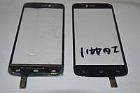Оригинальный тачскрин / сенсор (сенсорное стекло) для Fly IQ4411 Energie 2 (черный цвет) + СКОТЧ В ПОДАРОК