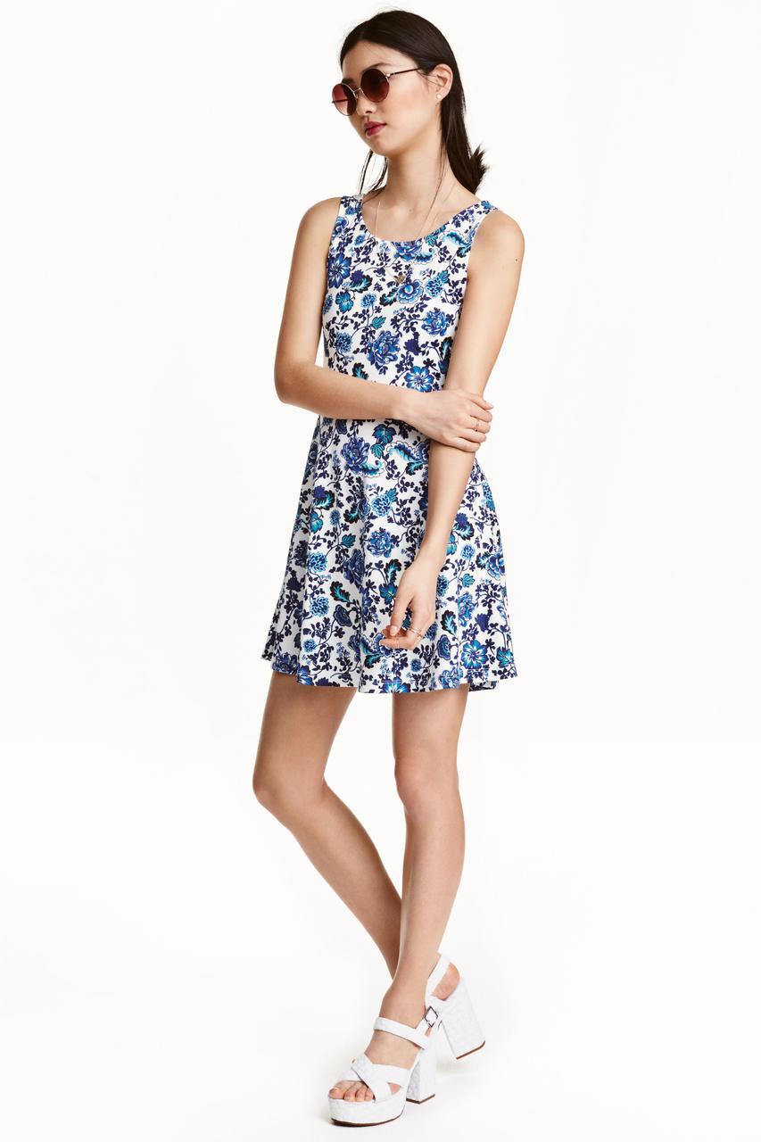 Новое цветочное платье H&M