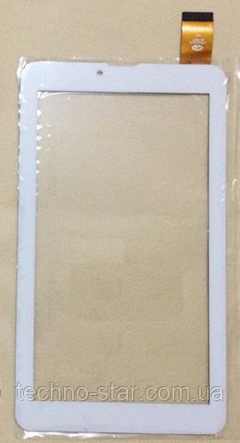 Оригинальный тачскрин / сенсор (сенсорное стекло) Crown B702 B705 B751 B760 B764 B772 B773 (белый, самоклейка)