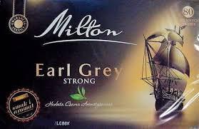 Чай черный с бергамотом Milton,  пакетированый 80 шт.