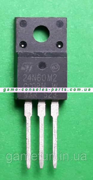 24N60M2 Транзистор, MOSFET PS4 Блок питания (Оригинал)