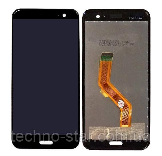 Оригинальный дисплей (модуль) + тачскрин (сенсор) для HTC U11 Life (черный цвет)