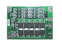 BMS 3s 40А Контроллер c БАЛАНСИРОВКОЙ (плата защиты) Li-ion аккумуляторов 18650