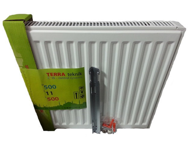 Радіатор сталевий 11 тип 500*1200 terra teknik