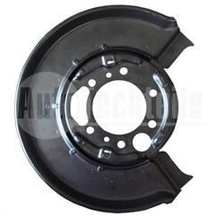 Защита колодок ручника MB Sprinter/VW LT 96-06 (L) (однокатк.)