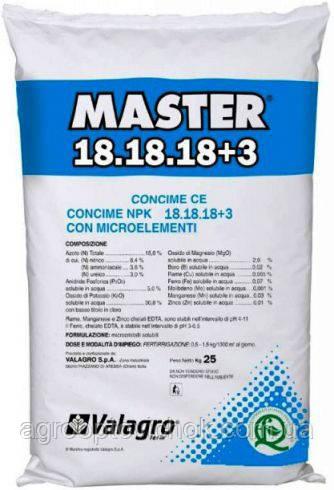Мастер 18.18.18+3 (25 кг)