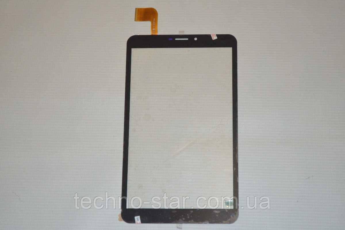 Оригинальный тачскрин / сенсор (сенсорное стекло) для Supra M84AG (черный цвет, самоклейка)