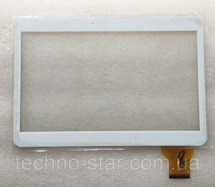 Тачскрин / сенсор (сенсорное стекло) для Manta MID1009 (белый цвет, самоклейка)