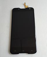 Оригинальный дисплей (модуль) + тачскрин (сенсор) для Blackview BV5000 (черный цвет)