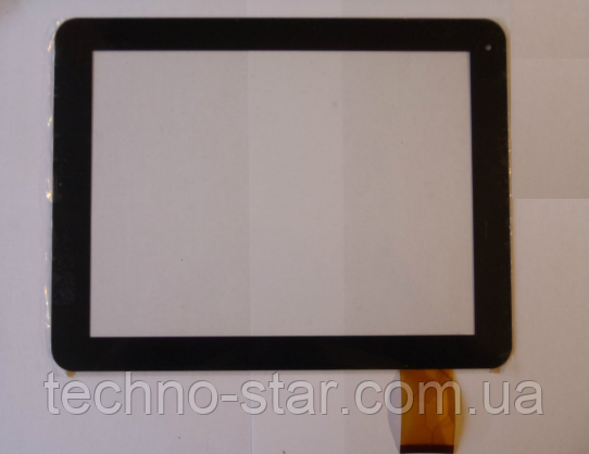 Оригинальный тачскрин / сенсор (сенсорное стекло) для DNS AirTab M971w (черный цвет, самоклейка)