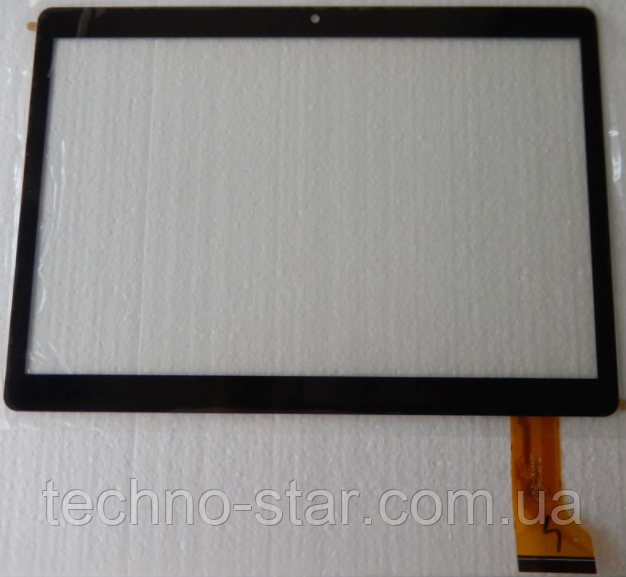Тачскрин / сенсор (сенсорное стекло) для Digma Plane 9505 3G PS9034MG | 9507M 3G PS9079MG (черный, самоклейка)
