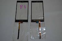 Оригинальный тачскрин / сенсор (сенсорное стекло) для BlackBerry Z3 (черный цвет, Synaptics) + СКОТЧ В ПОДАРОК