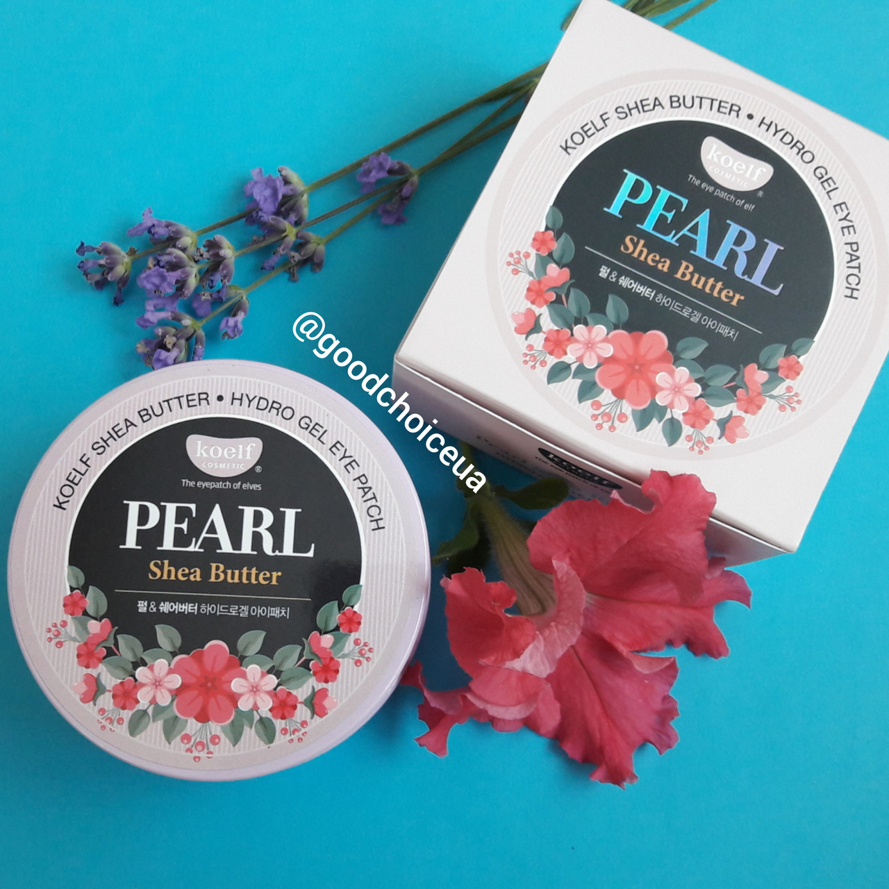 Гидрогелевые патчи KOELF Hydrogel Eye Patch Pearl & Shea butter