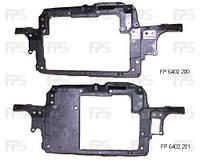Передняя панель Skoda Fabia 99-07, авто с кондиционером, под большой радиатор (FPS) Skoda FP 6402 200