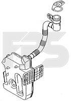 Бачок омывателя Skoda Octavia A5 (1 насос) Fps FP 6407 100