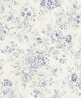 Флизелиновые обои Rasch SOUVENIR 516012  Белые-Синие