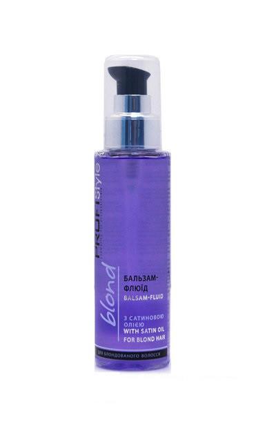 Бальзам-флюид для волос з сатиновою олією БЛОНД PROFIStyle для блондированных волос