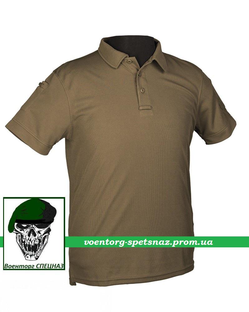 Тактическая футболка-поло олива (olive) - Военторг