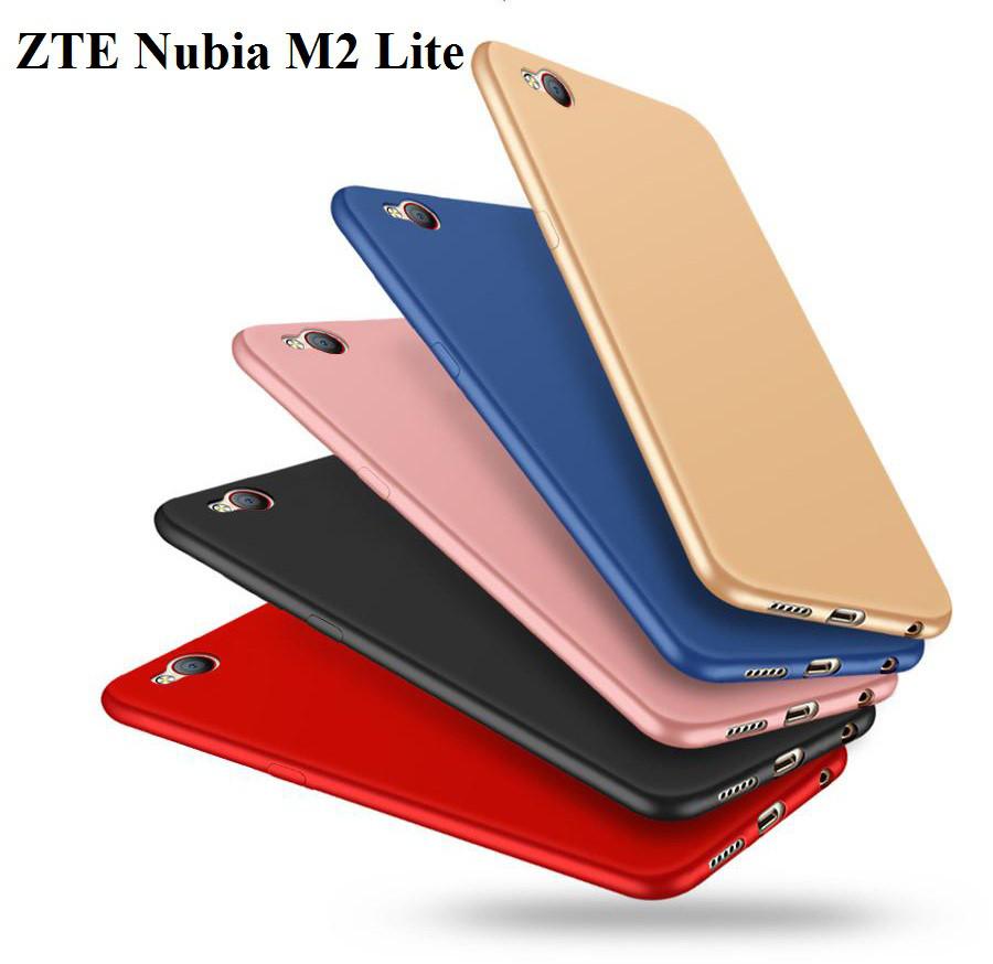 Чехол пластик матовое покрытие Soft-touch для ZTE Nubia M2 Lite (nx573j) / В наличии есть стекла /