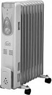 Масляный радиатор 2000Вт OPTI OS-1609