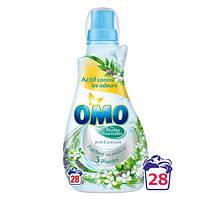 Гель для стирки супер-концентрат OMO 5 цветков (28 стирок), 1 л