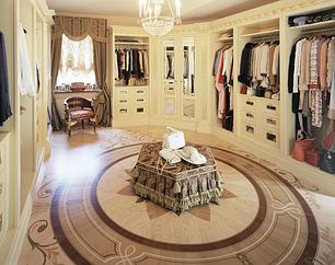 Все гардеробные