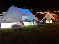 Аренда палатки Звезда двукупольная на 55 кв.метров, фото 1