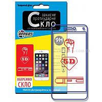 """Защитное стекло (TEMPERED GLASS) для экрана іРhone 6 (4,7""""), 5D, (white)"""