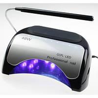 УФ-ЛАМПА ГИБРИД 48W с таймером для наращивания ногтей и покрытия гель-лака (CCFL+LED)