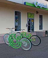 Велопарковка для otp-bank