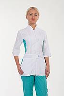 Медичний жіночий костюм батист 40-56р. Хелслайф, фото 1