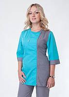 Медицинский костюм женский батист ХелсЛайф 40-60р, фото 1