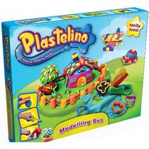 Набор для лепки Домик Plastelino