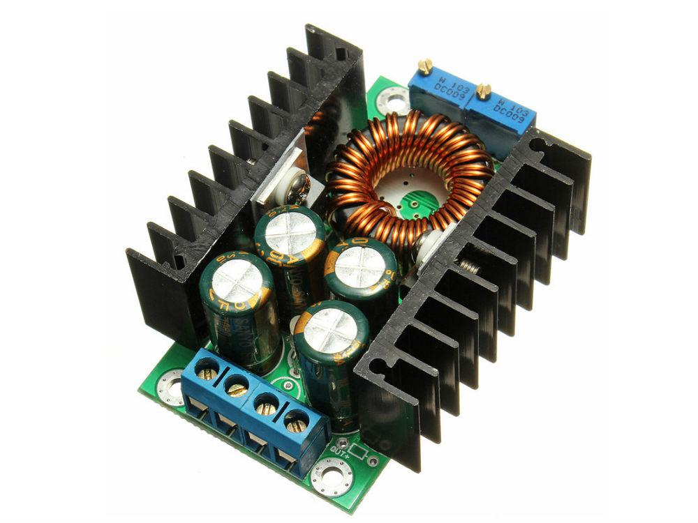 Понижающий преобразователь напряжения 5-40 В с регулировкой тока и напряжения