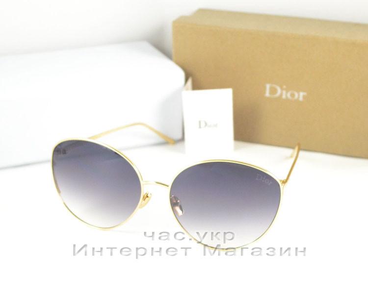 Женские солнцезащитные очки Dior оправа металлическая трендовый хит 2019 Диор качественная  реплика