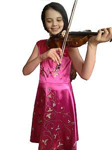 Концертное платье со стразами К Элизе